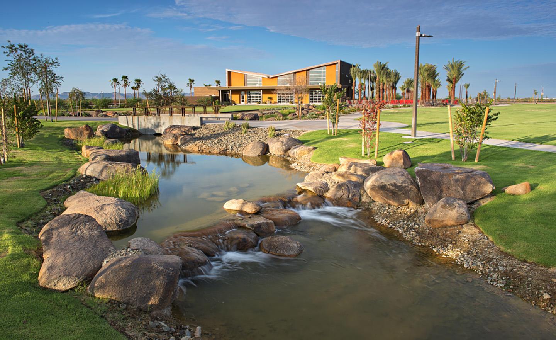 Eastmark Great Park - Pacific Aquascape International